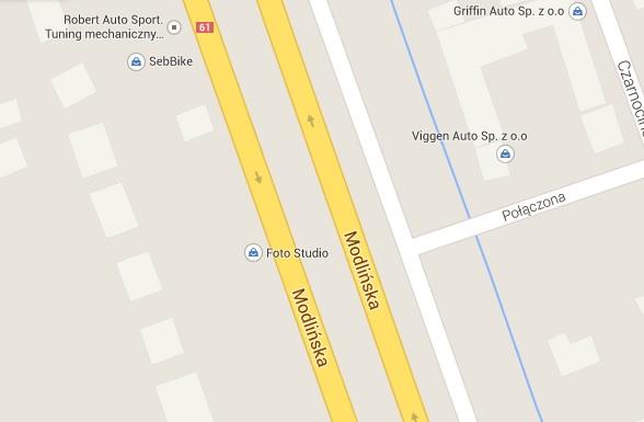mapa google moja firma
