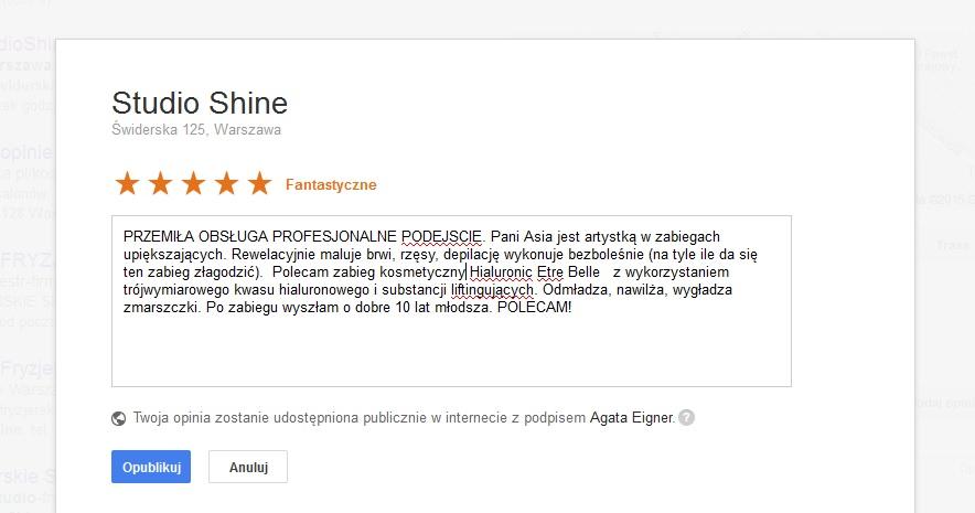d64d877aba3c65 reklama w internecie jak dodac opinie do strony firmy na mapach Google  opinia poradnik 4